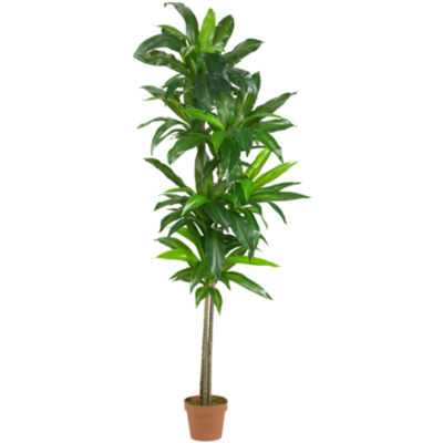 Nearly Natural 6-ft. Dracaena Silk Plant Real Touch