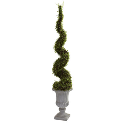 Nearly Natural Mohlenbechia Spiral Tree With Decorative Urn