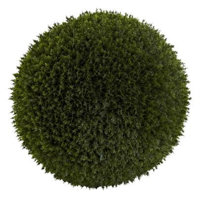 Nearly Natural Indoor/Outdoor 14 Cedar Ball
