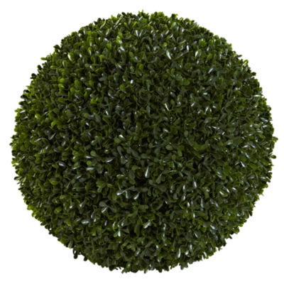 Nearly Natural Indoor/Outdoor 14 Boxwood Ball