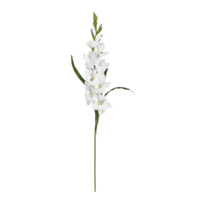 "Nearly Natural 36"" Set Of 12 Gladiola Stems"