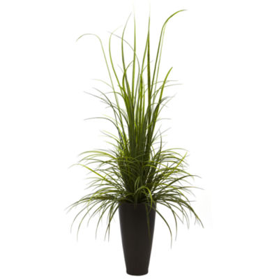 "64"" River Grass With Planter Indoor/Outdoor"