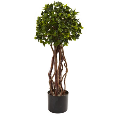 2.5' English Ivy Topiary Uv Resistant Indoor/Outdoor
