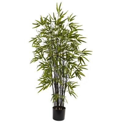 Nearly Natural Black Bamboo Tree