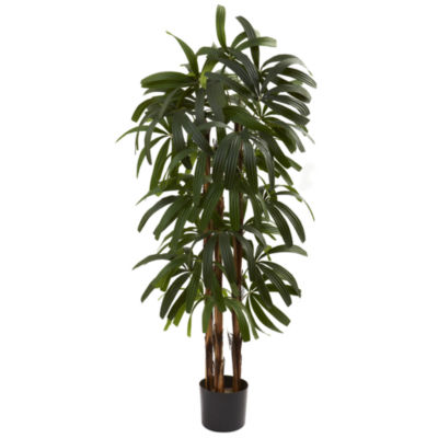 Nearly Natural 4-ft. Raphis Palm Tree
