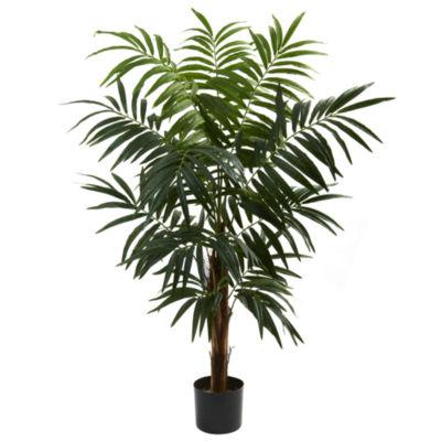 Nearly Natural 4.5-ft. Bulb Areca Tree