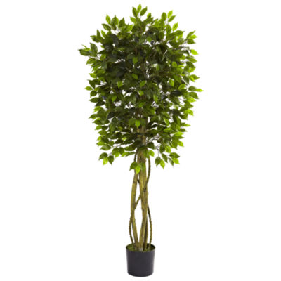 Nearly Natural Ficus UV-Resistant Tree