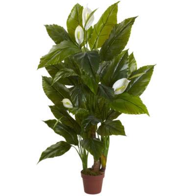 4.5' Spathyfillum Plant Real Touch