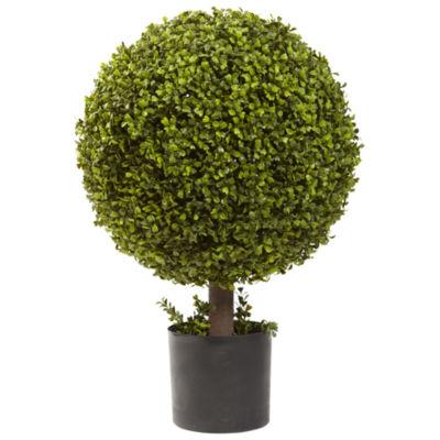 Nearly Natural 27 Boxwood Ball Topiary