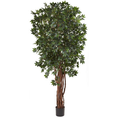 Nearly Natural 7.5-ft. Lychee Silk Tree