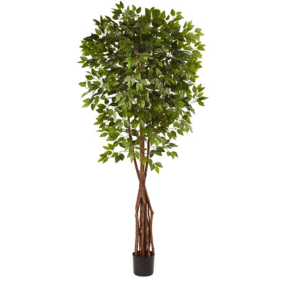Nearly Natural 7.5-ft. Super Deluxe Ficus Tree
