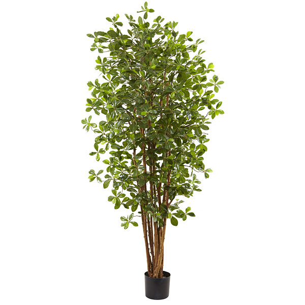 Nearly Natural 6-ft. Black Olive Silk Tree