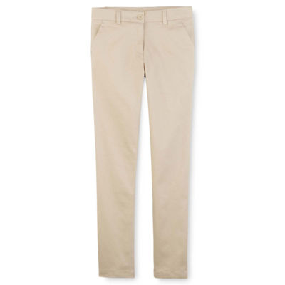 IZOD Exclusive Stretch Twill Regular Fit Skinny Pants - Girls 4-16 and Slim