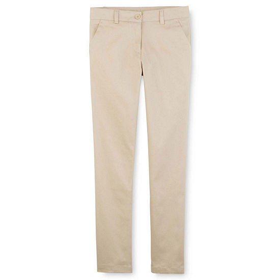 Izod Exclusive Girls Skinny Flat Front Pant