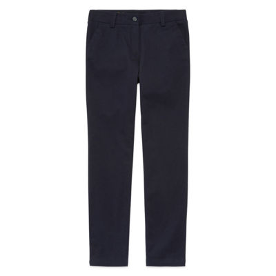 IZOD Exclusive Stretch Twill Regular Fit Skinny Pants - Girls 4-16 and Slim