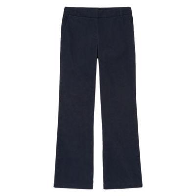 IZOD® Stretch Twill Regular Fit Boot-Cut Pants - Girls 4-16 and Plus