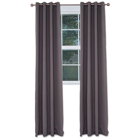 Cambridge Home Blackout Grommet-Top Curtain Panel