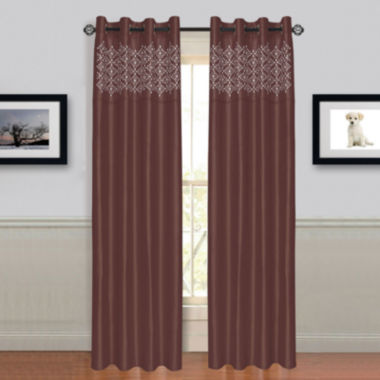 Cambridge Home Alla Grommet-Top Curtain Panel