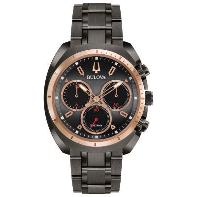Bulova Curv Mens Gray Bracelet Watch-98a158