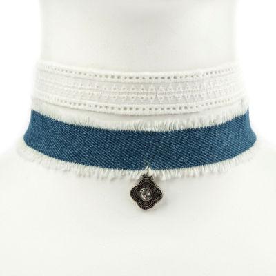 Carole Womens 2-pc. Clear Necklace Set