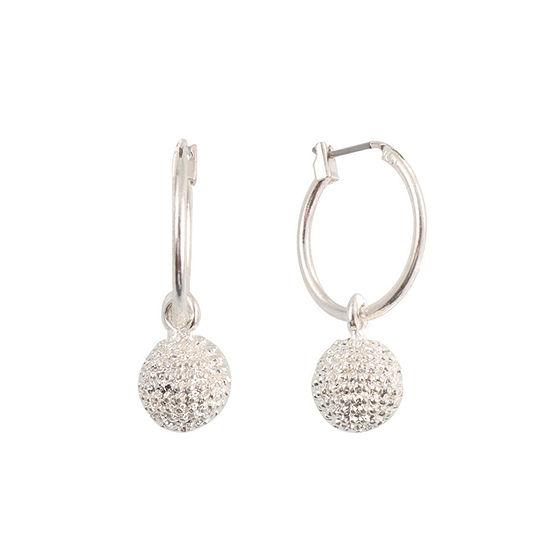 Liz Claiborne 1 Pair Hoop Earrings