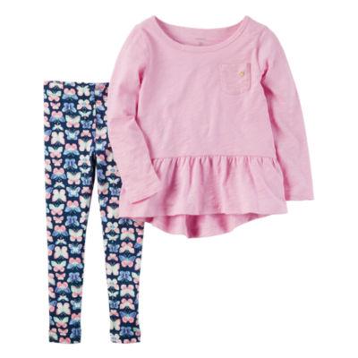 Carter's 2-pc. Legging Set-Preschool Girls