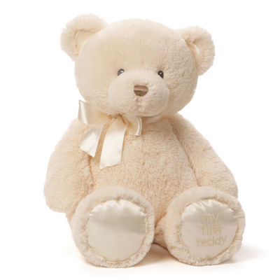 Gund My 1st Teddy Cream 18 Stuffed Animal