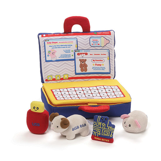Gund My First Laptop Playset