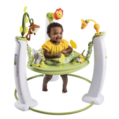Evenflo Exersaucer Safari Friends Baby Activity Center