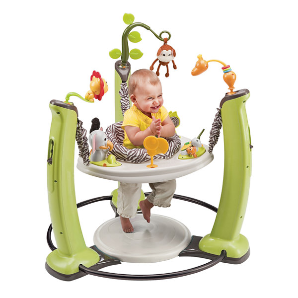 Evenflo Exersaucer Junglequest Baby Activity Center