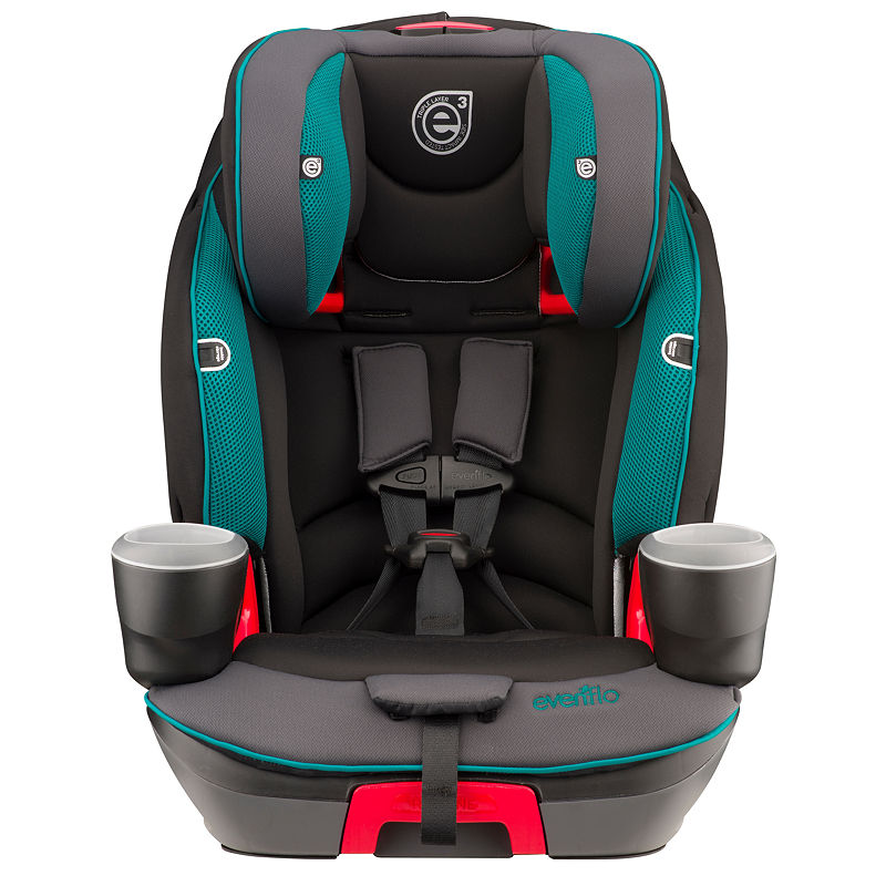Evenflo Booster Car Seat, Green, One Size