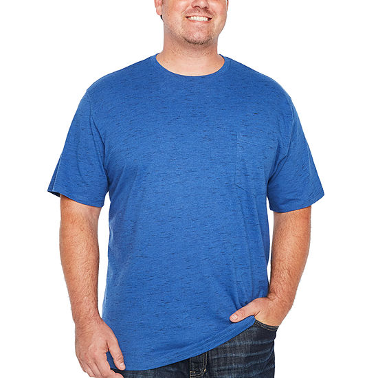 The Foundry Big & Tall Supply Co. Tees Mens Crew Neck Short Sleeve T-Shirt-Big and Tall