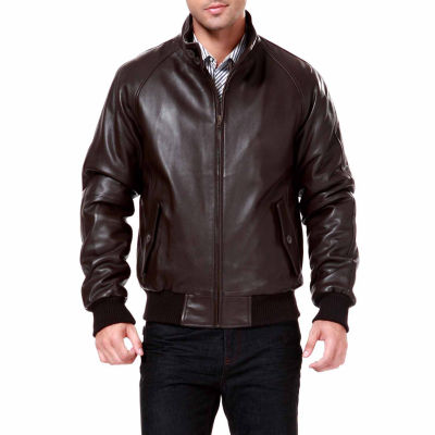 Wwii Lambskin Leather Leather Bomber Jacket Tall