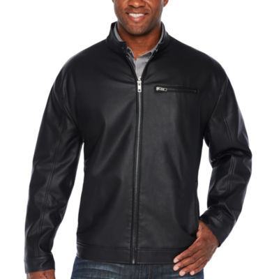 Claiborne Midweight Motorcycle Jacket - Big and Tall