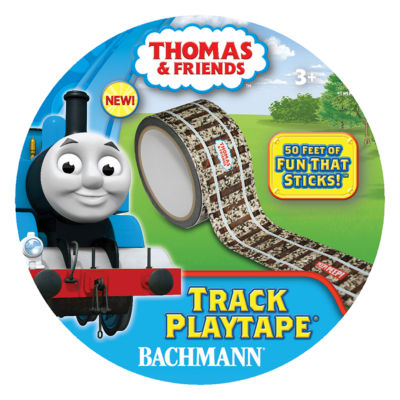 Bachmann Trains - Thomas and Friends Track Playtape, 50 inches x 2 inches
