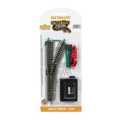 Bachmann Trains - N Scale Right Remote Turnout