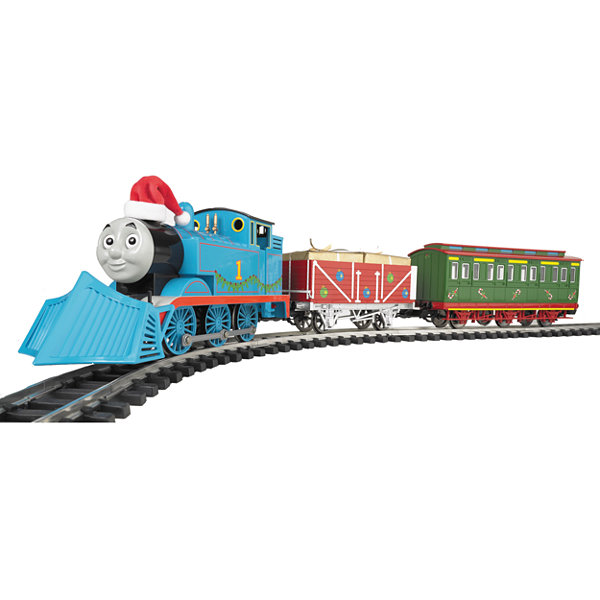 "Bachmann Industries Thomas' Christmas Delivery Ready to Run Electric Train Set Large ""G"" Scale"