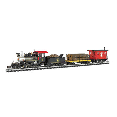 Bachmann Trains - North Woods Logger, Large G Scale Ready to Run Electric Train Set