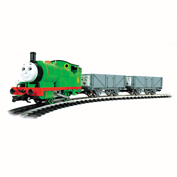 Bachmann Trains - Percy and the Troublesome Trucks Ready-to-Run Large Scale Train Set