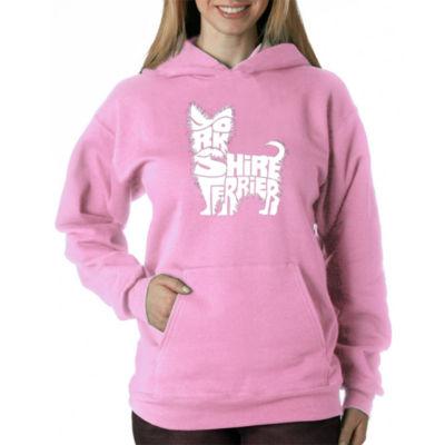 Los Angeles Pop Art Yorkie Sweatshirt