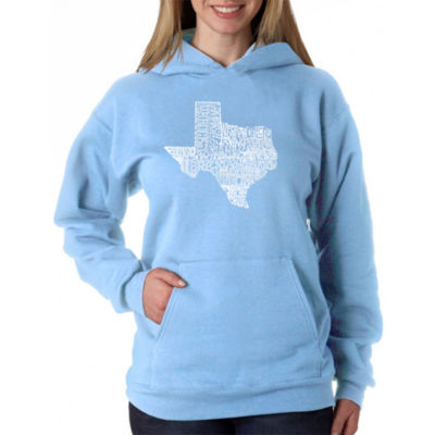 Los Angeles Pop Art The Great State Of Texas Sweatshirt