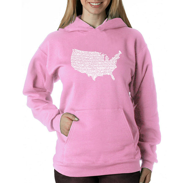 Los Angeles Pop Art The Star Spangled Banner Sweatshirt