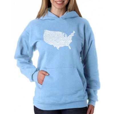Los Angeles Pop Art The Star Spangled Banner Sweatshirt