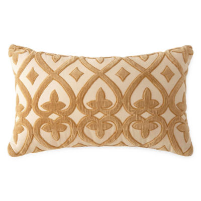 Royal Velvet Hayden Velvet Oblong Decorative Pillow
