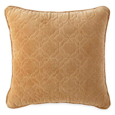 Royal Velvet Hayden Quilted Square Decorative Pillow