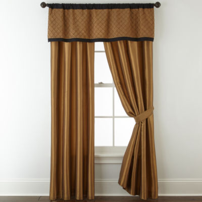 Royal Velvet Hayden 2-Pack Rod Pocket Curtain Panels