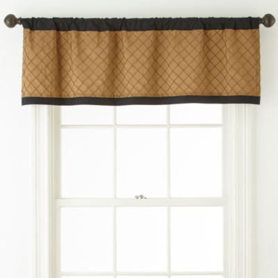 Royal Velvet Hayden Rod Pocket Valance