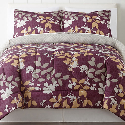 Home Expressions Jasmine 3 Pc. Comforter Set