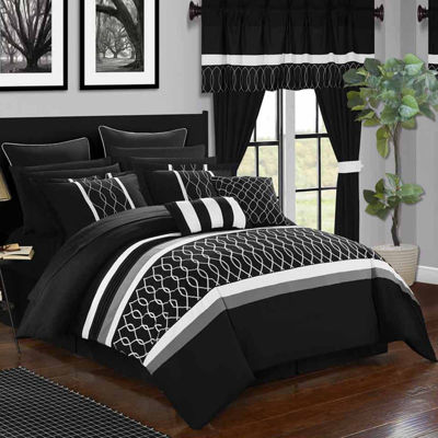 Chic Home Dinah 24-pc. Midweight Comforter Set