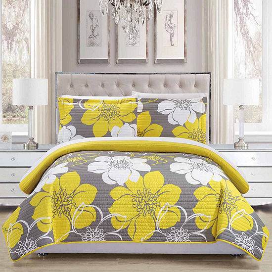 Chic Home Woodside 7 Pc Quilt Set